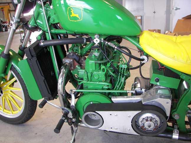 DieselBike net | Motorcycles using Daihatsu Briggs and