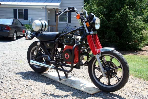 Dieselbike Kawasaki Diesel Motorcycles