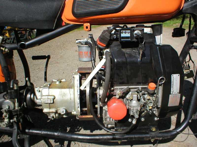 киев как поставить дизельный двигатель на мотоцикл днепр