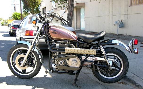 dieselbike: private diesel motorbikes i to rengine