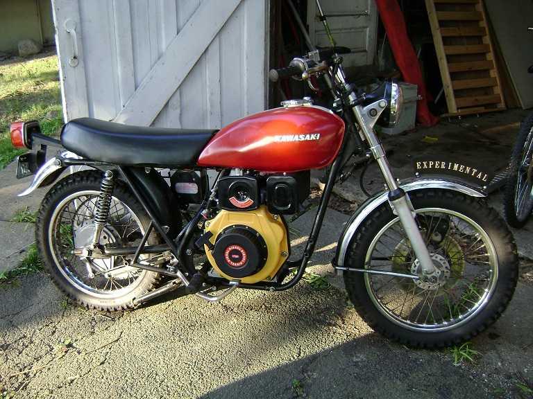 Yamaha Diesel Dirt Bike