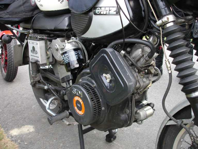 dieselbike net diesel motorcycles using yanmar and yanclone parts yanmar mz jpg